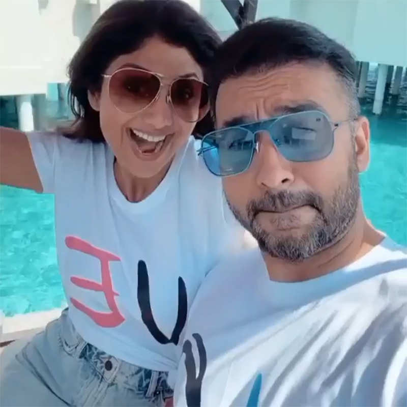 Picture-perfect moments from Shilpa Shetty and hubby Raj Kundra's Maldives vacation