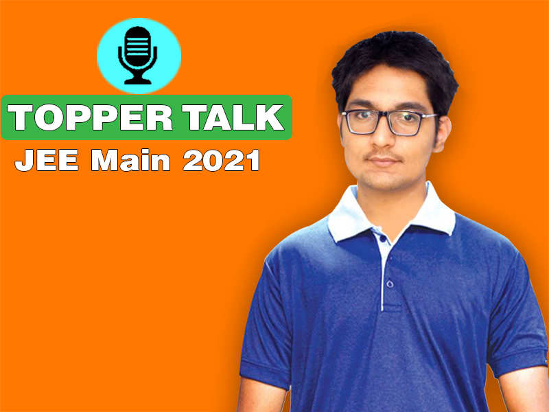 Topper Talk: Passion for Mathematics helped in excelling JEE Main