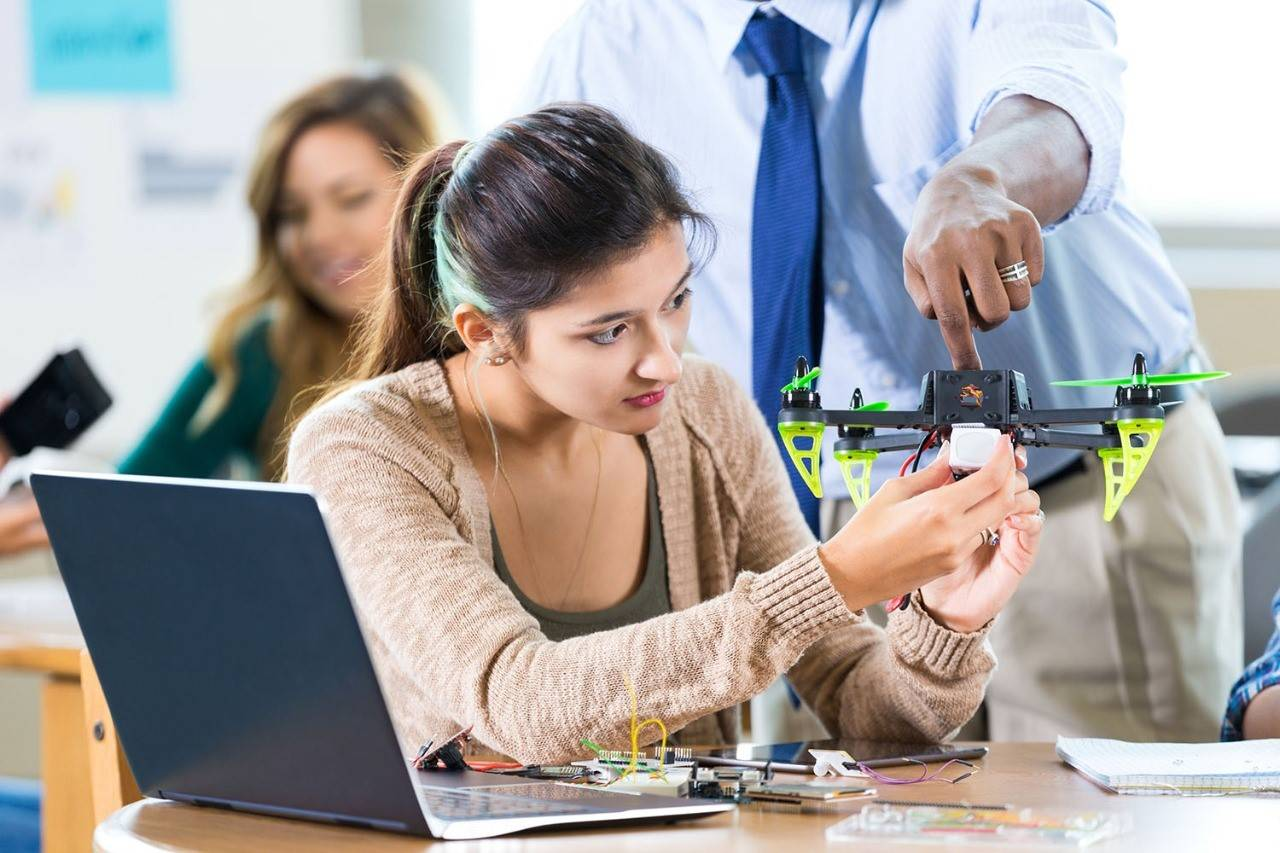 Course cursor: Drone technology to get youngsters ahead in tech space