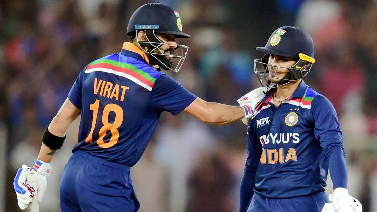 In Pics: Kohli, Kishan power India to series-levelling win over England in second T20I  | The Times of India