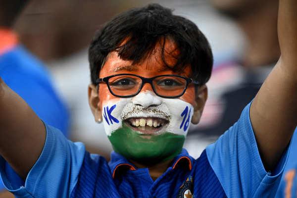 Patriotic fervour grips Indian cricket lovers