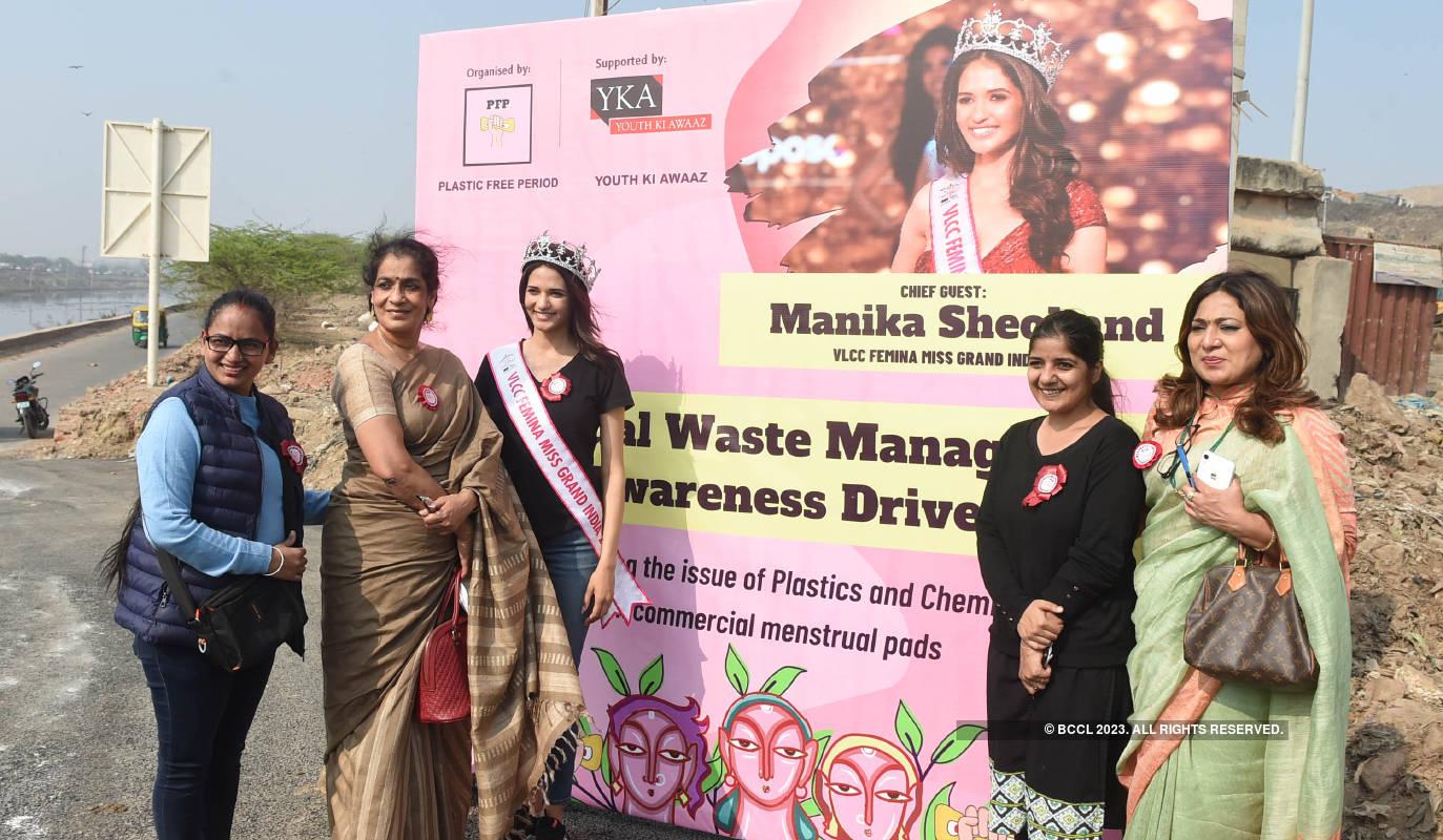 VLCC Femina Miss Grand India 2020 Manika Sheokand spreads awareness on menstrual waste management