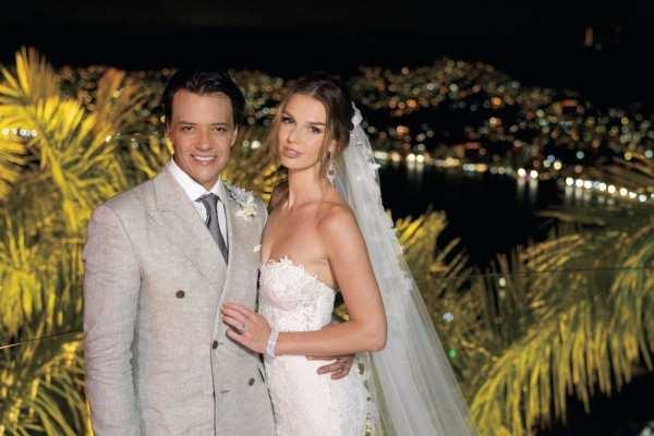Beauty queen Marta Stępień marries Rodrigo Herrera