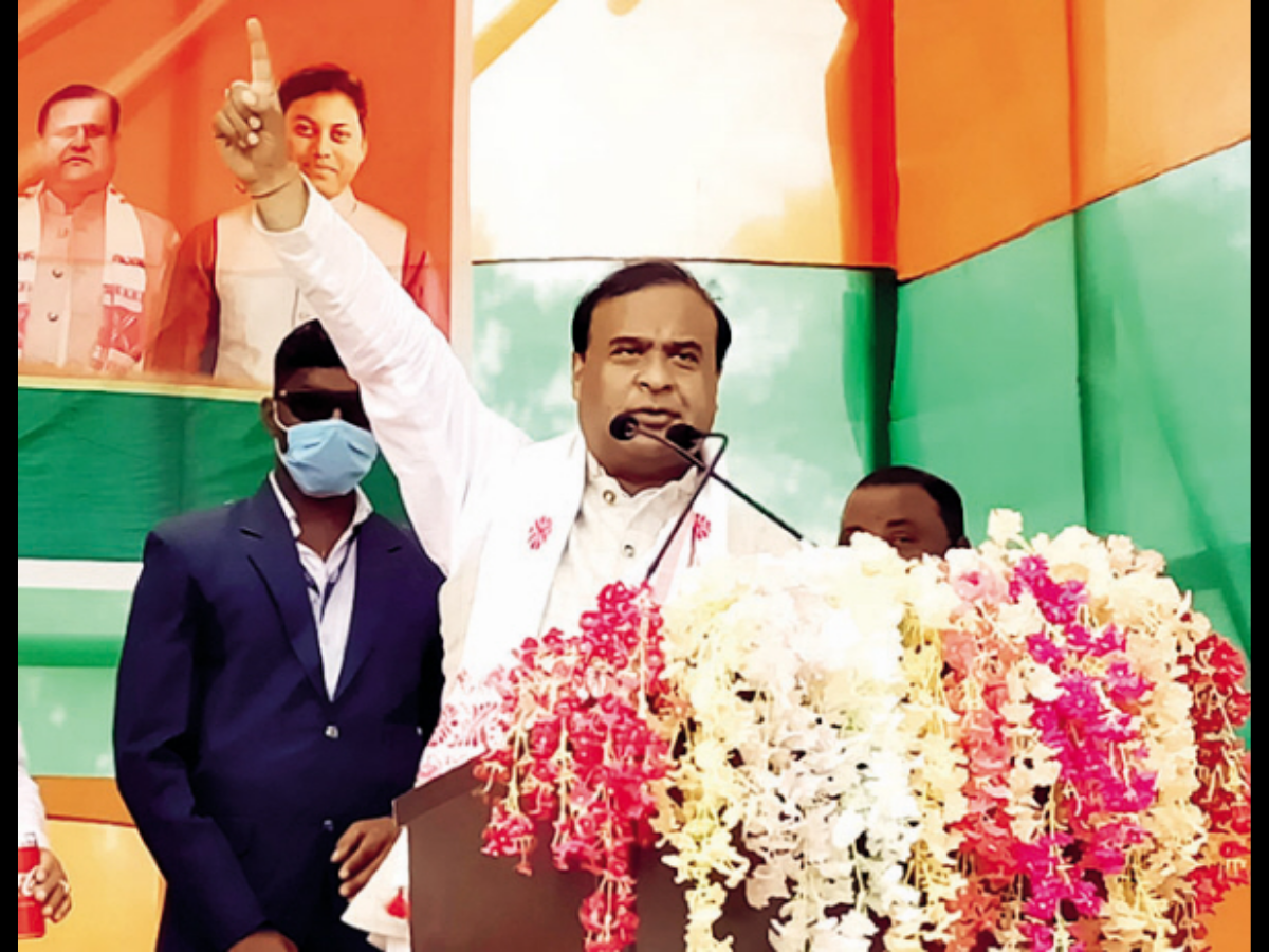 Winning five new seats in Phase 1 will take NDA closer to 100-mark: Himanta