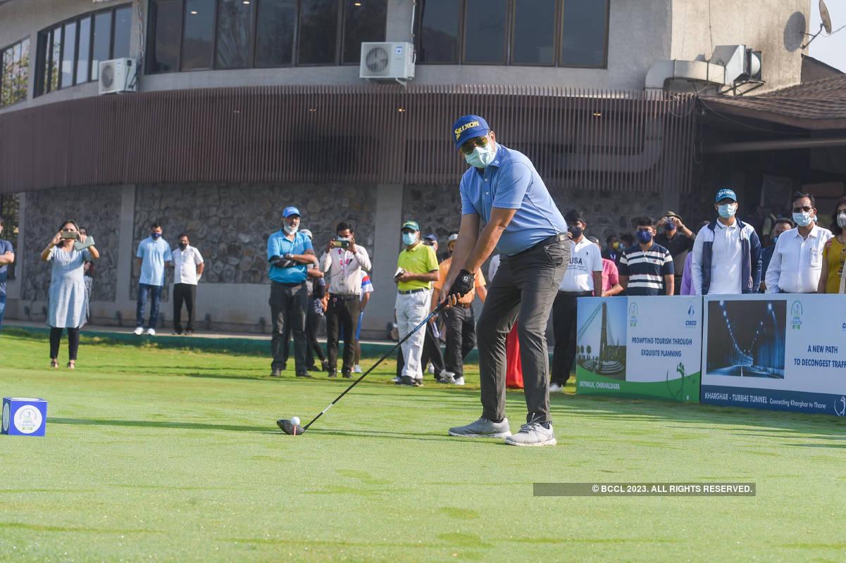 Eknath Shinde inaugurates the CIDCO Masters Cup 2021
