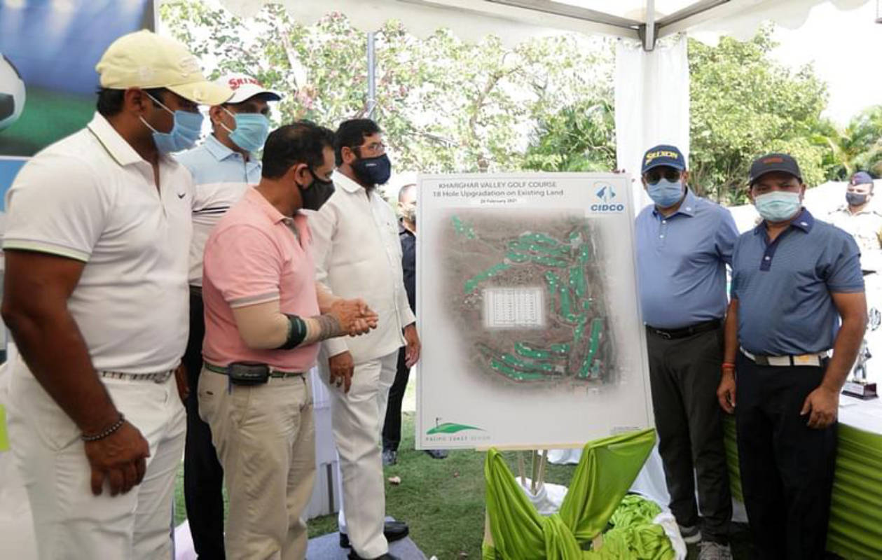 Eknath Shinde inaugurates the CIDCO Masters Cup 2021
