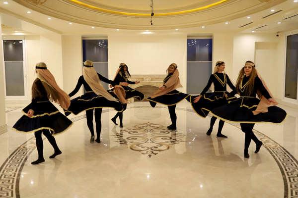 Women create community of dance in Iran