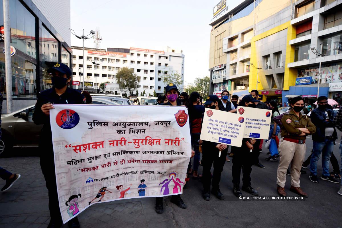 Nirbhaya Squad performs a street play