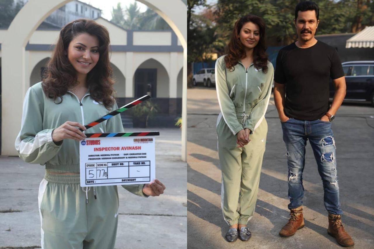 Urvashi Rautela and Inspector Avinash team reach Chambal to finish shoot
