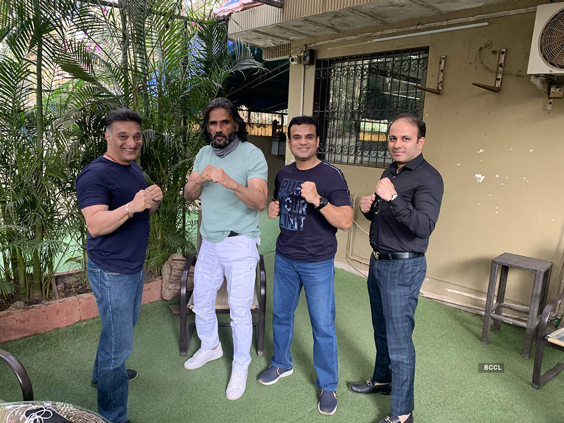 Pictures of UFC GYM India which announces partnership with MMA India Federation & IMMAF to develop amateur MMA talent throughout India