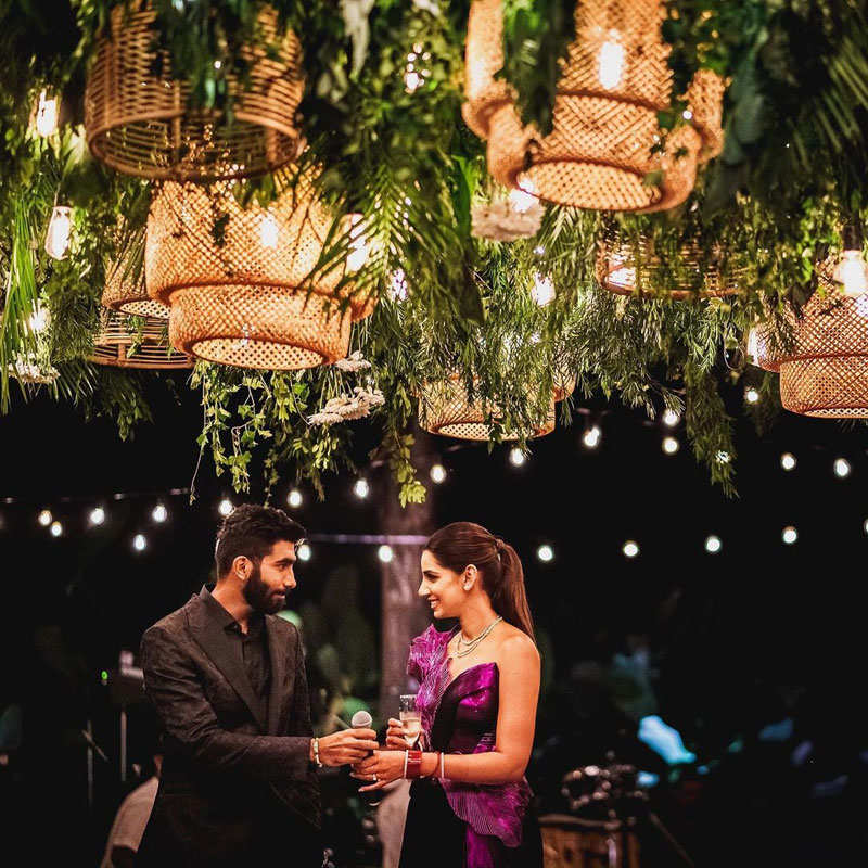 Dreamy pictures from Jasprit Bumrah and Sanjana Ganesan's wedding