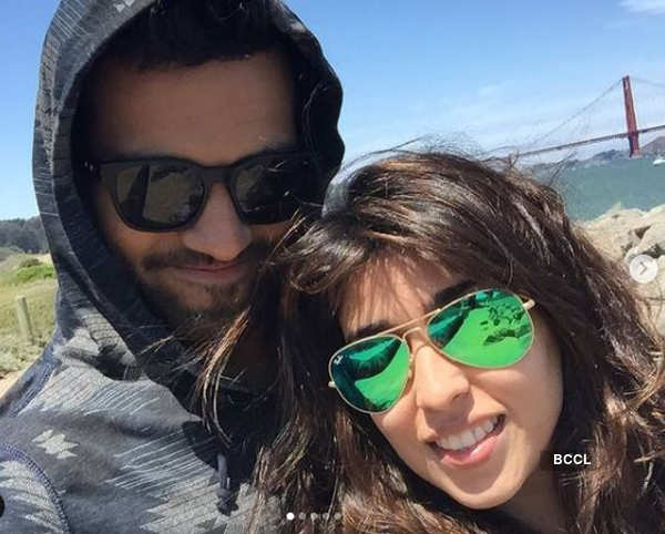 Cricketer Rohit Sharma and his wife's loved-up pictures go viral