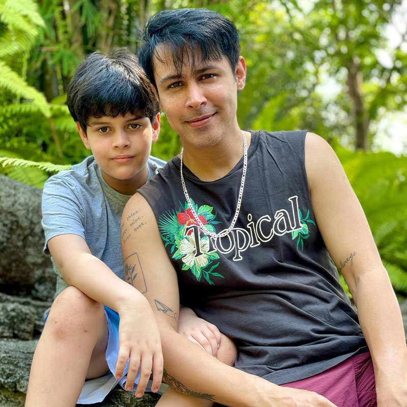 Tera Yaar Hoon Main actor Ssudeep Sahir and wife Anantica holiday in Goa