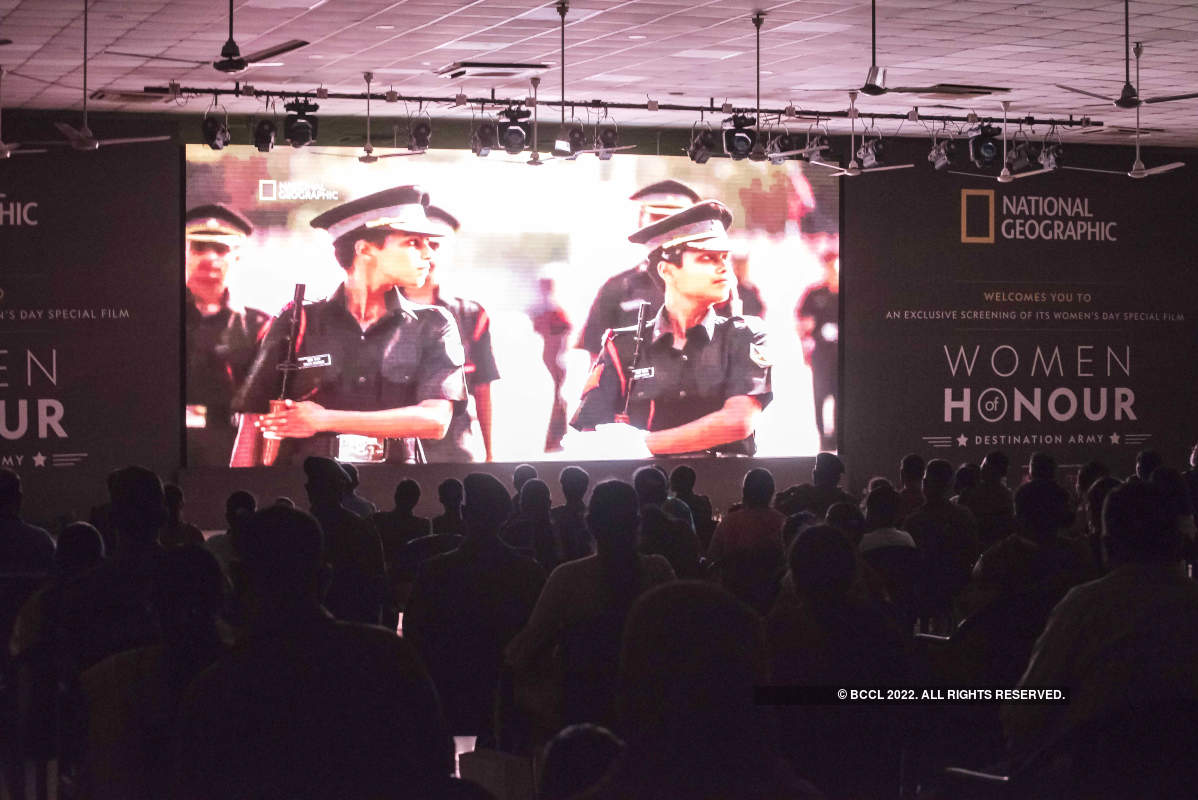 Film on the training of women officers in the Indian Army screened at the capital