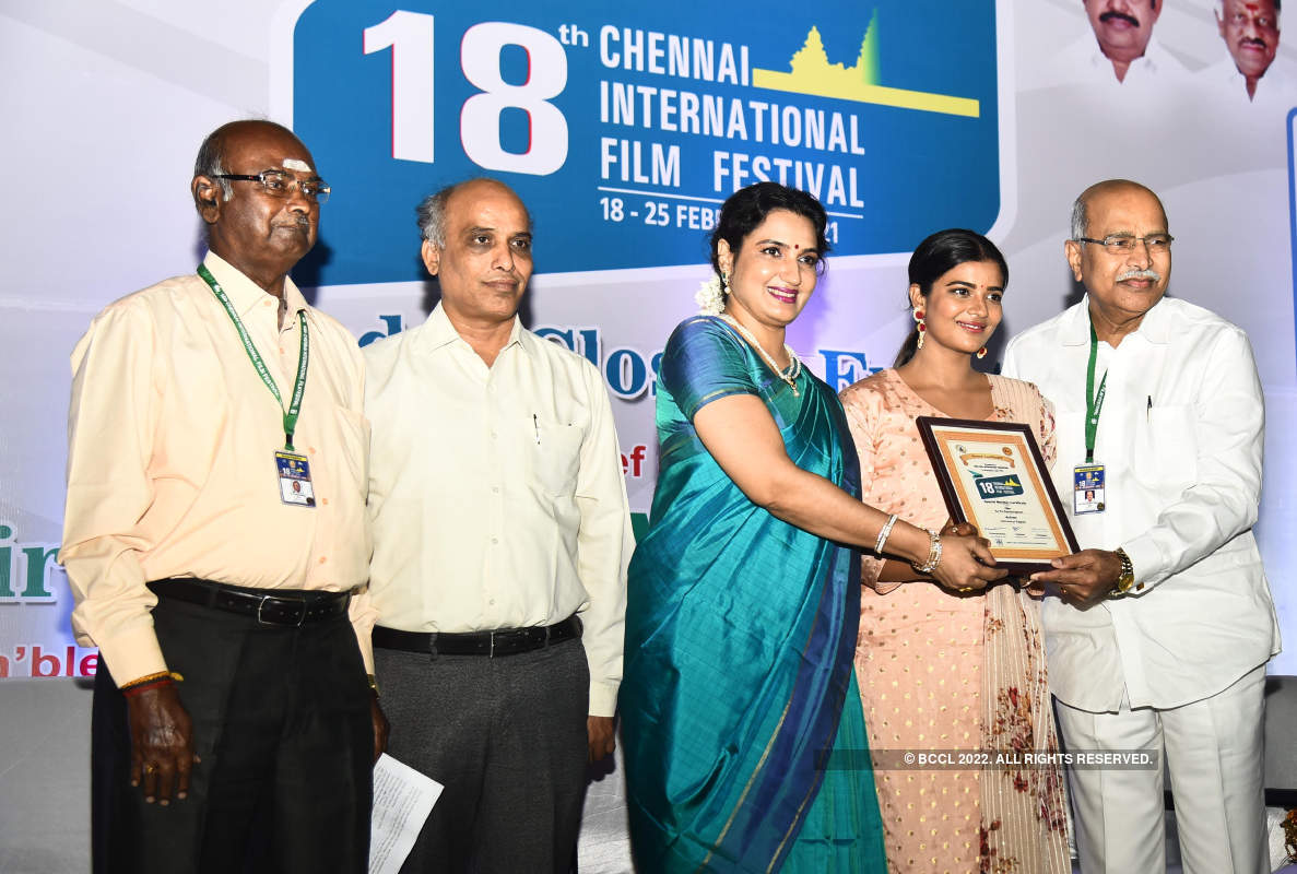 Chennai International Film Festival 2021: Closing ceremony