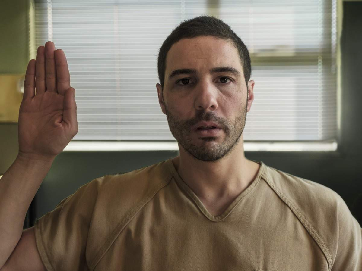 Tahar Rahim in a still from the movie. In 'The Mauritanian', Jodie Foster plays the role of a feisty lawyer, Nancy Hollander