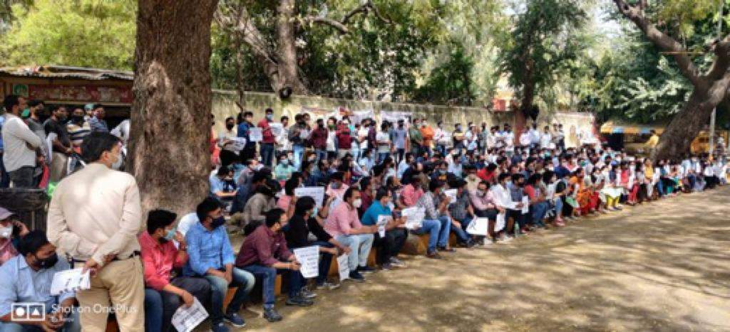 Why 1500 engineering teachers are protesting at Jantar Mantar