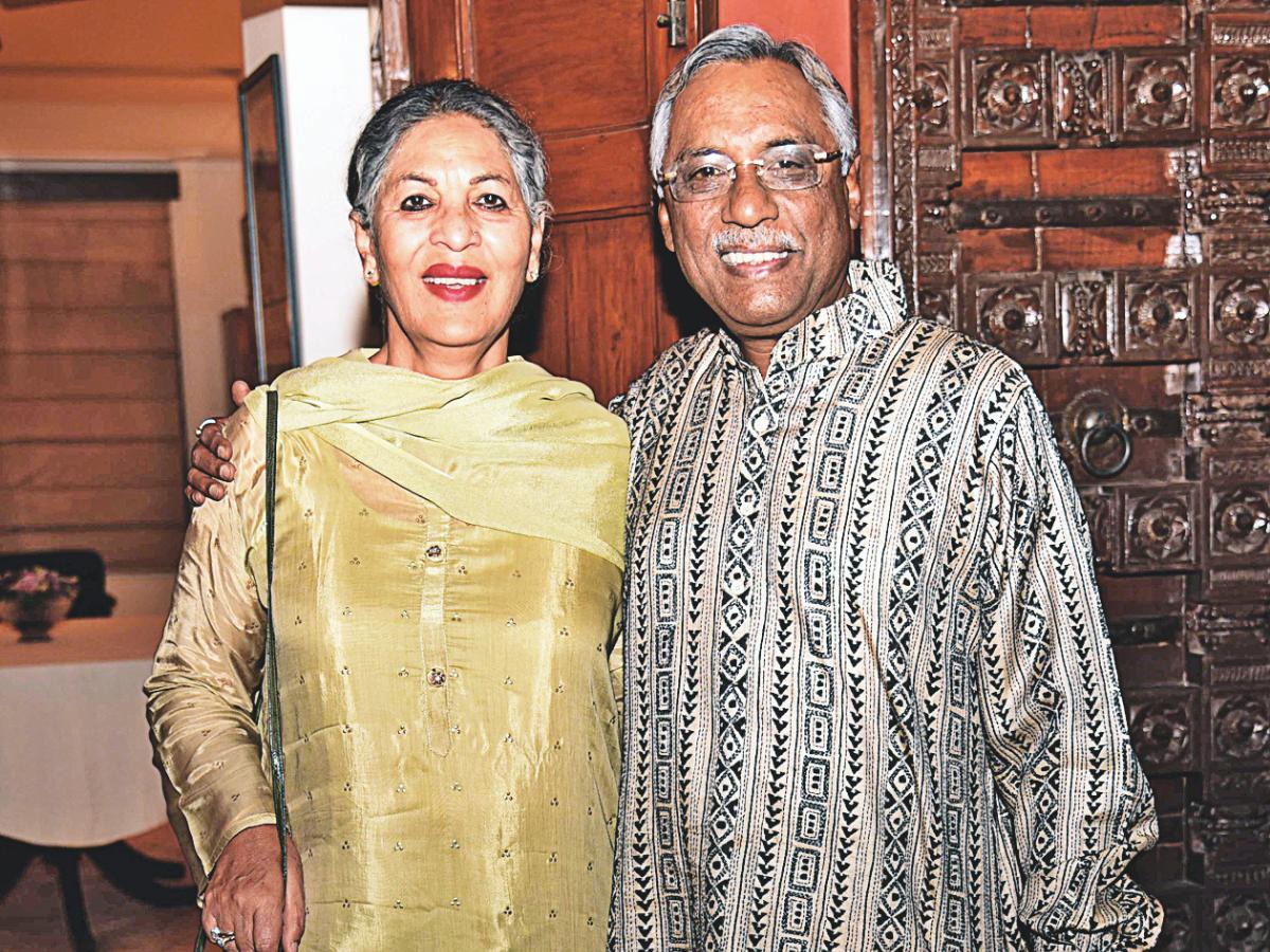 Renuka Varma and Pavan K Varma