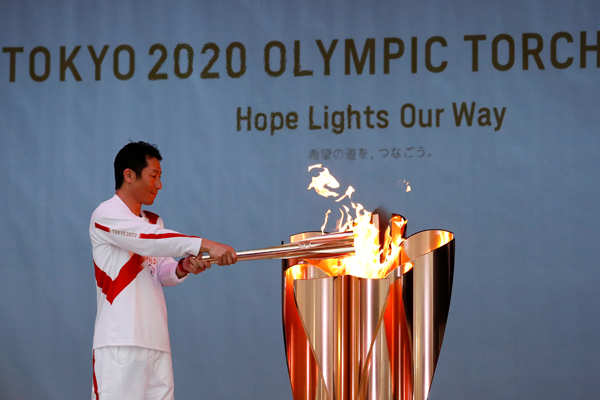 Olympic torch relay kicks off in Japan