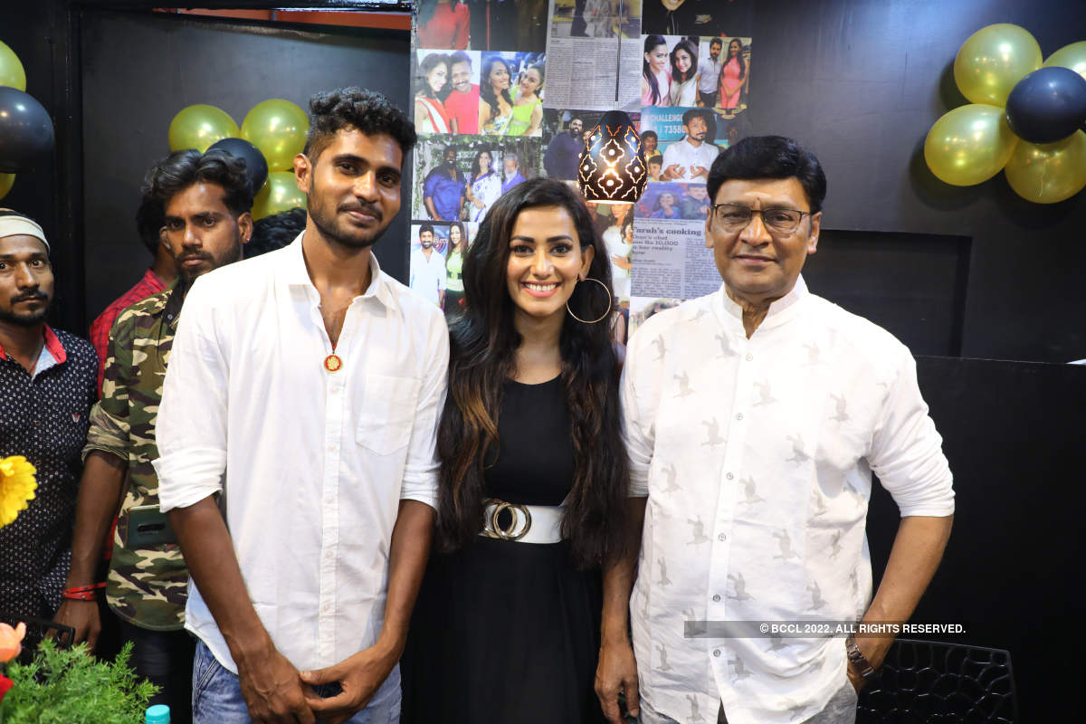 Actress Sanjana Singh launches her new restaurant in Chennai