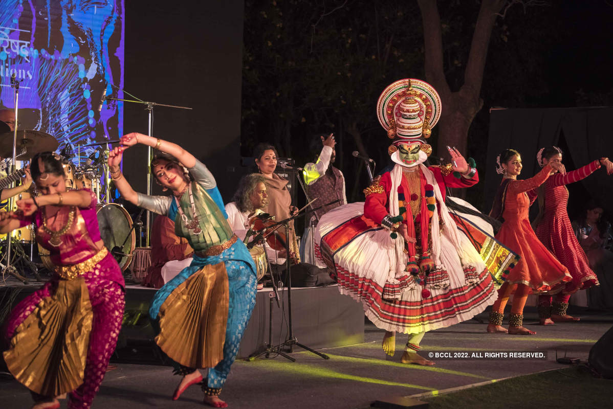 An Indian cultural evening by ICCR