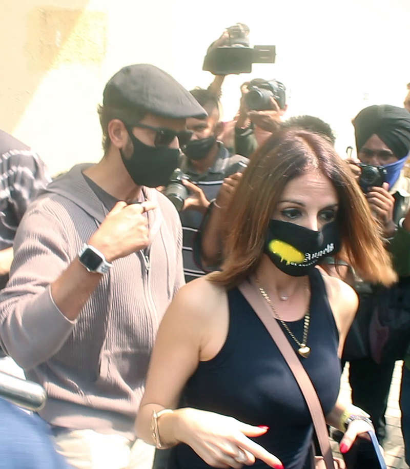 Pictures from Hrithik Roshan's movie date with kids and ex-wife Sussanne Khan