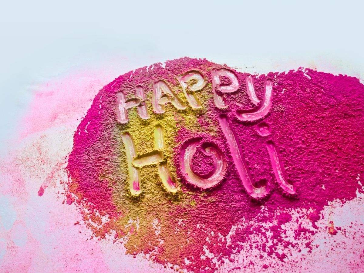 Happy Holi Images and Wishes