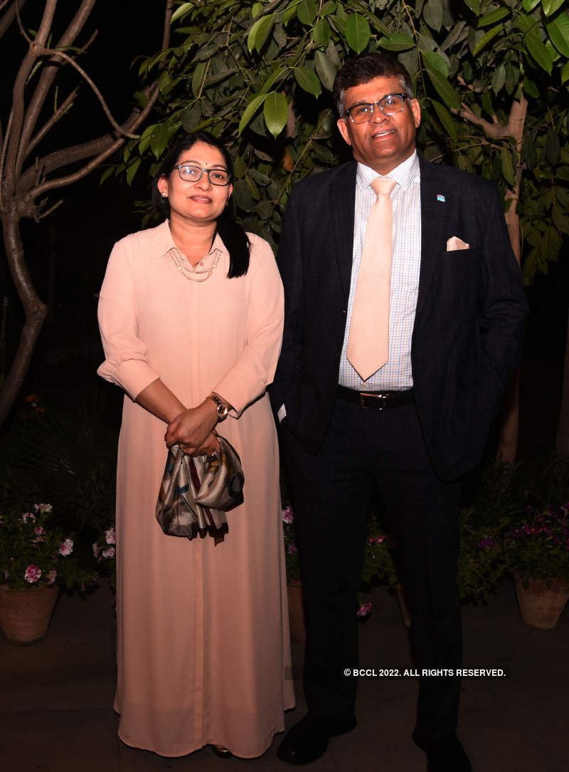 Bhaichand Patel hosts a do for his diplomat friends