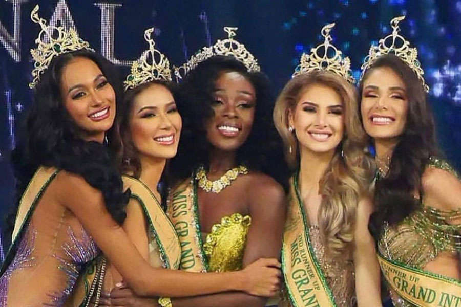 Abena Appiah crowned Miss Grand International 2020