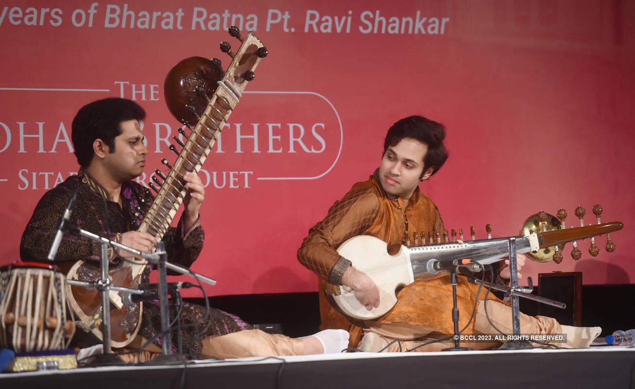 A concert to mark 100 years of sitar maestro Pt Ravi Shankar