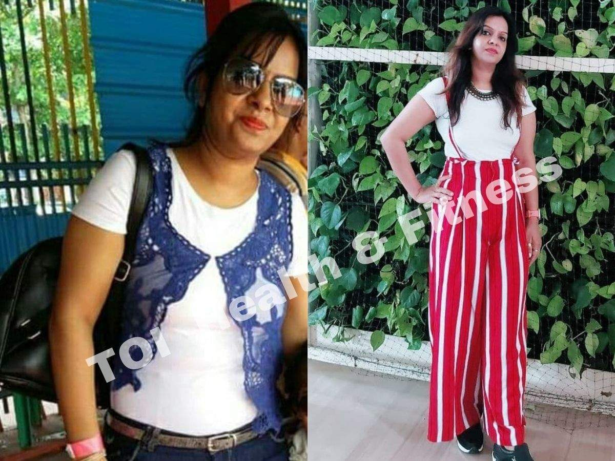 """Weight loss story: """"I finish my dinner by 7.30 pm and workout for 45 minutes everyday""""  