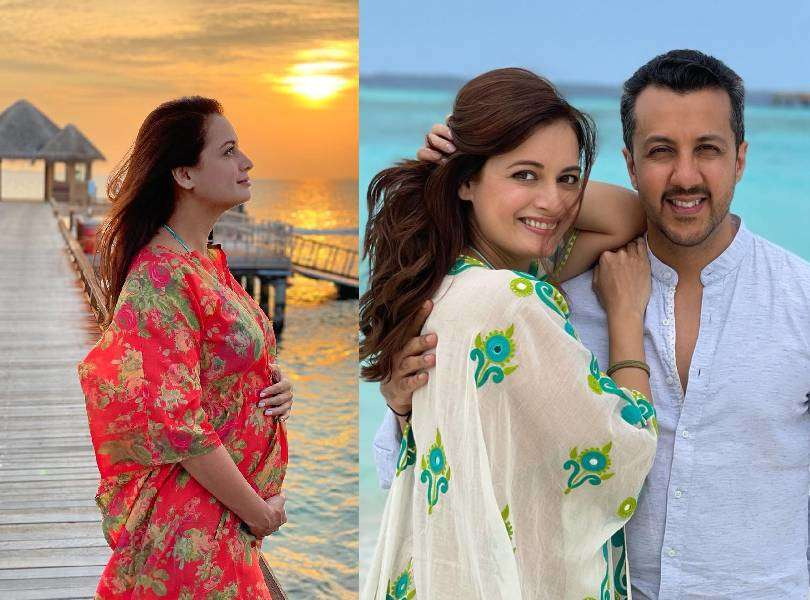 Dia Mirza announces pregnancy with a beautiful baby bump!