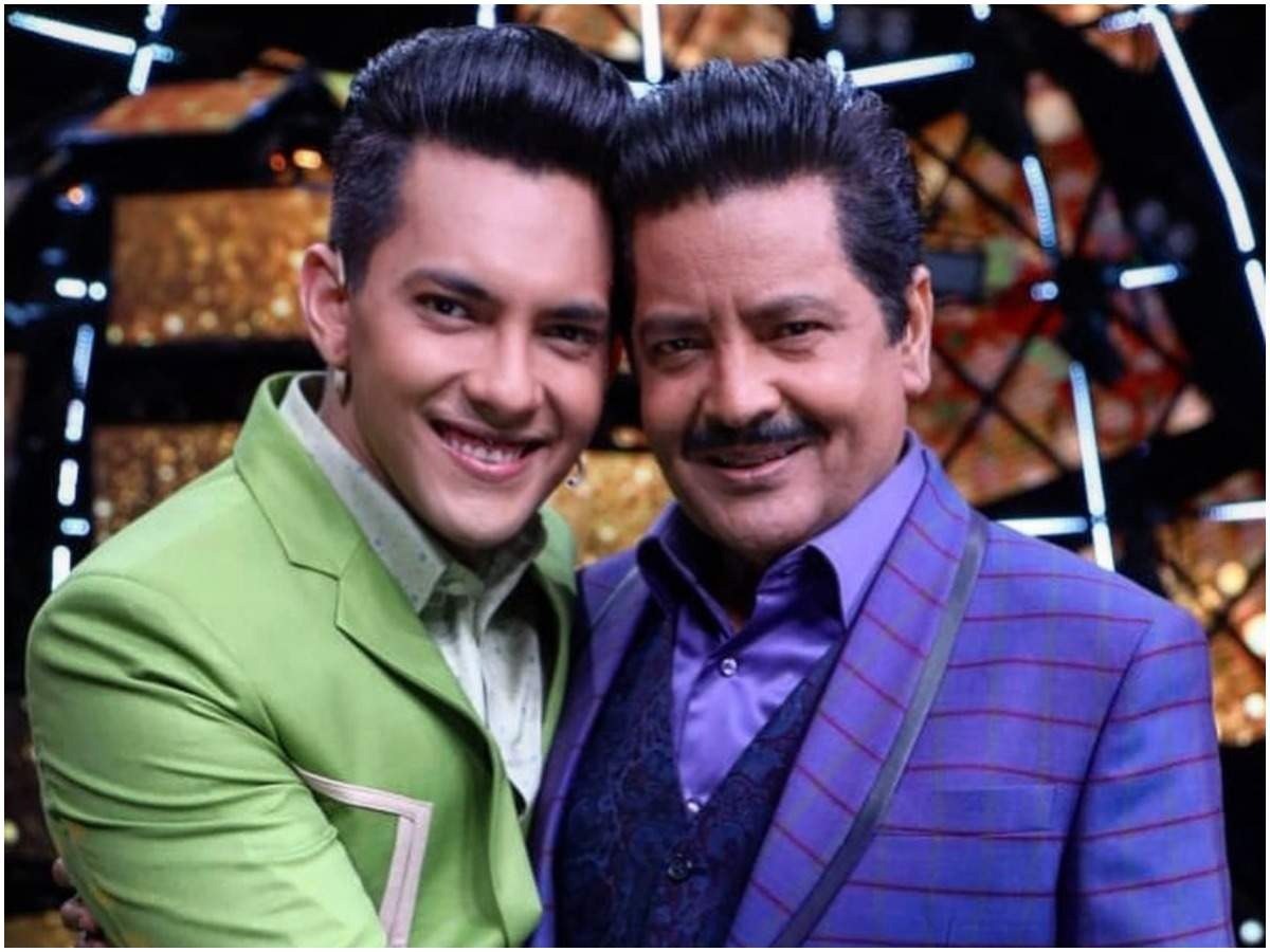 Aditya with his father Udit Narayan (Instagram)