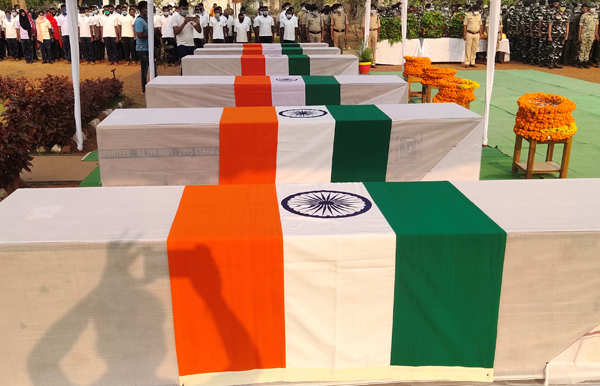 Naxal attack: Amit Shah pays tribute to fallen soldiers