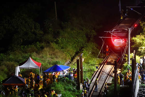 Taiwan: At least 50 killed in train accident