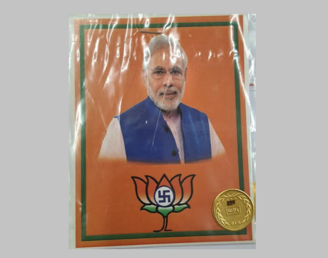 Puducherry assembly election: BJP candidate accused of distributing gold coins, cash to voters