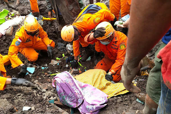 Indonesia: These pictures show the devastation caused by flash floods