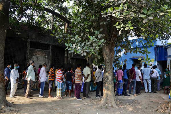 Voting underway in poll-bound states