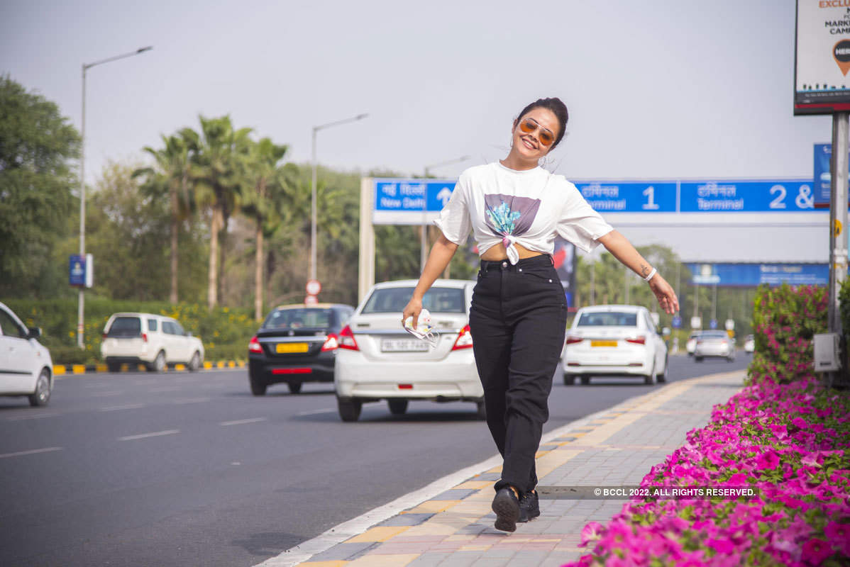 Devoleena Bhattacharjee's photoshoot