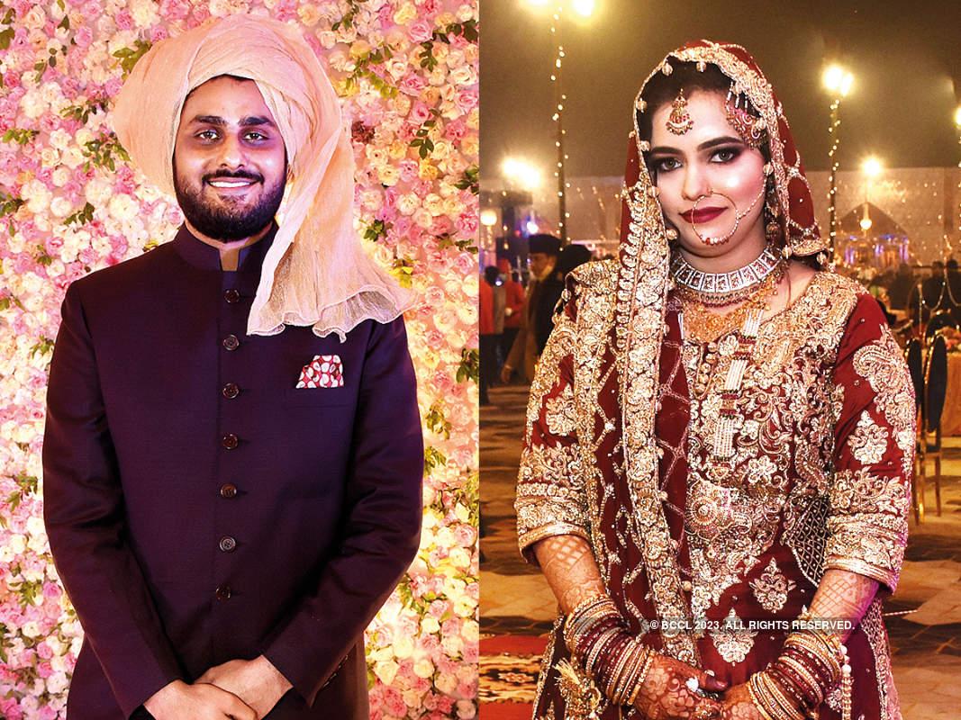 Mohsin and Simra's wedding was a lavish affair