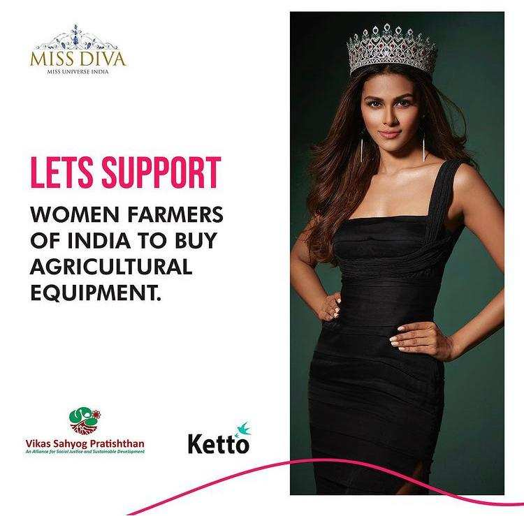 Adline Castelino raises funds to provide agricultural equipment to women farmers of India
