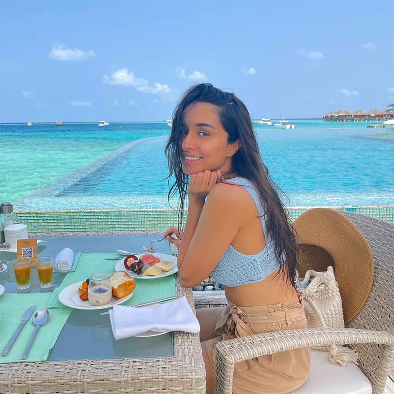 Shraddha Kapoor is teasing fans with these new beautiful vacation pictures