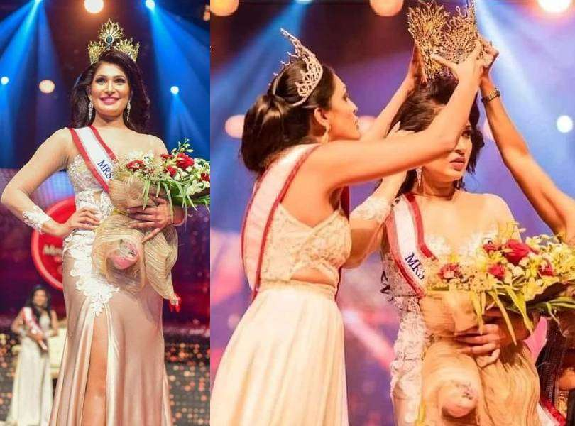 Sri Lankan pageant winner left injured after being stripped off her crown over marital status