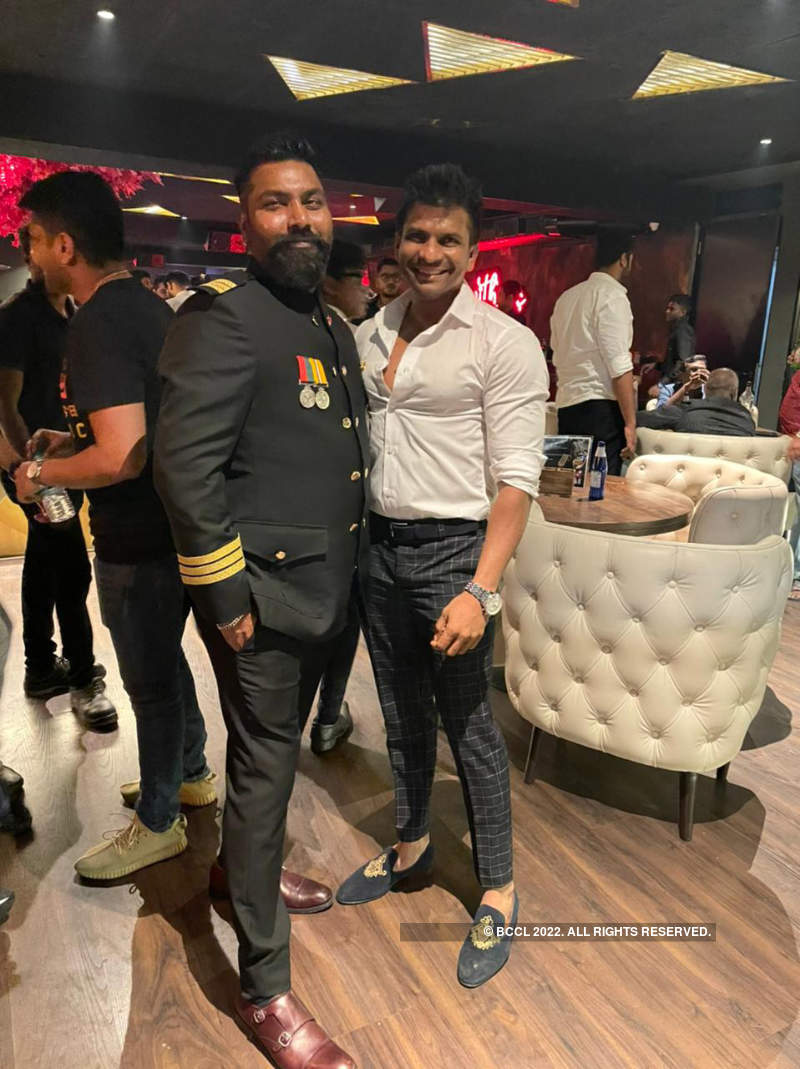 Chennaiites attend the launch of a restobar