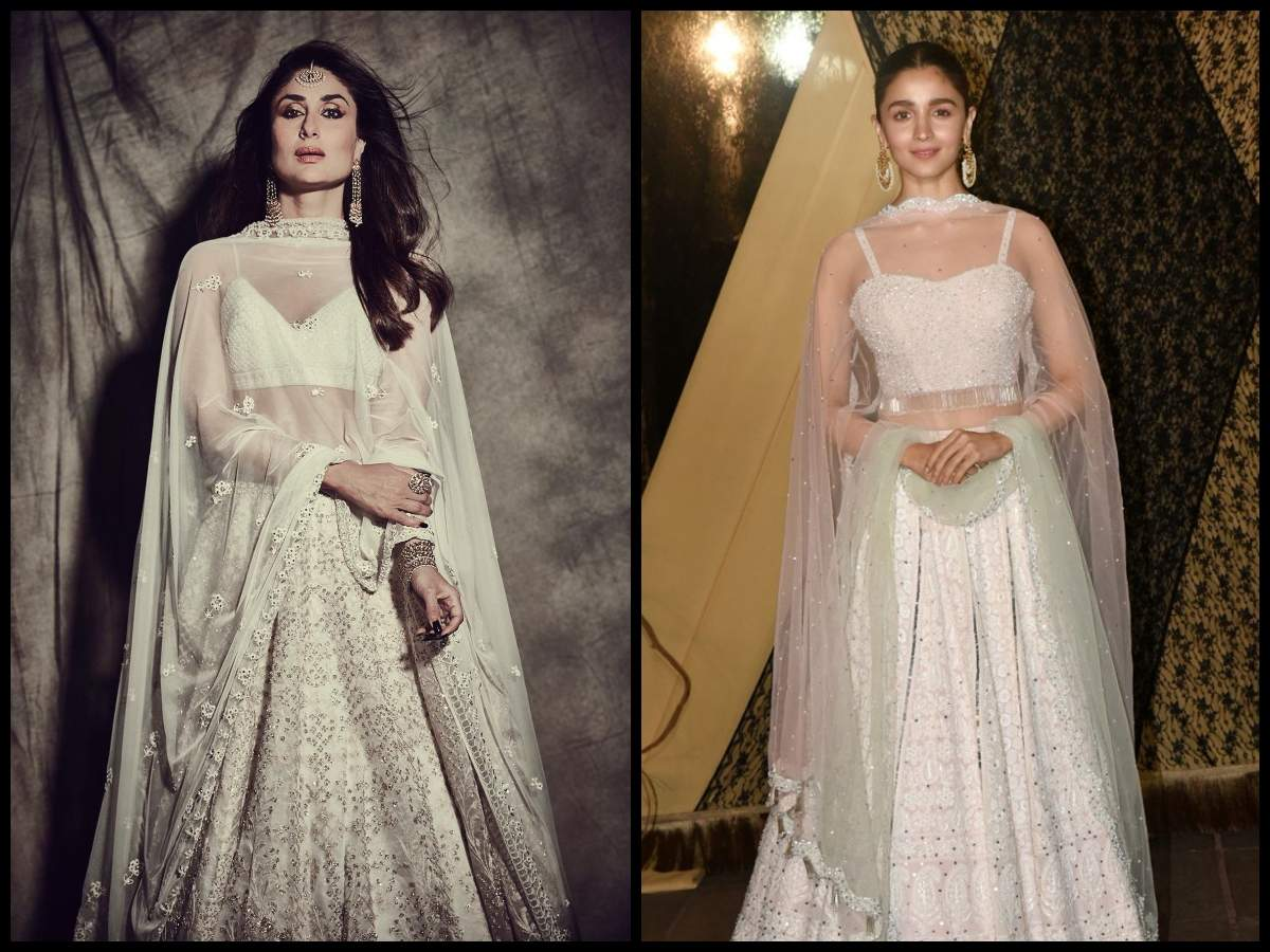 , Stars who looked dreamy in white lehenga cholis, The World Live Breaking News Coverage & Updates IN ENGLISH