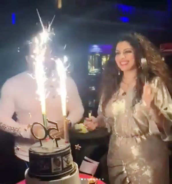 Inside pictures of Tannaz Irani's birthday celebrations go viral