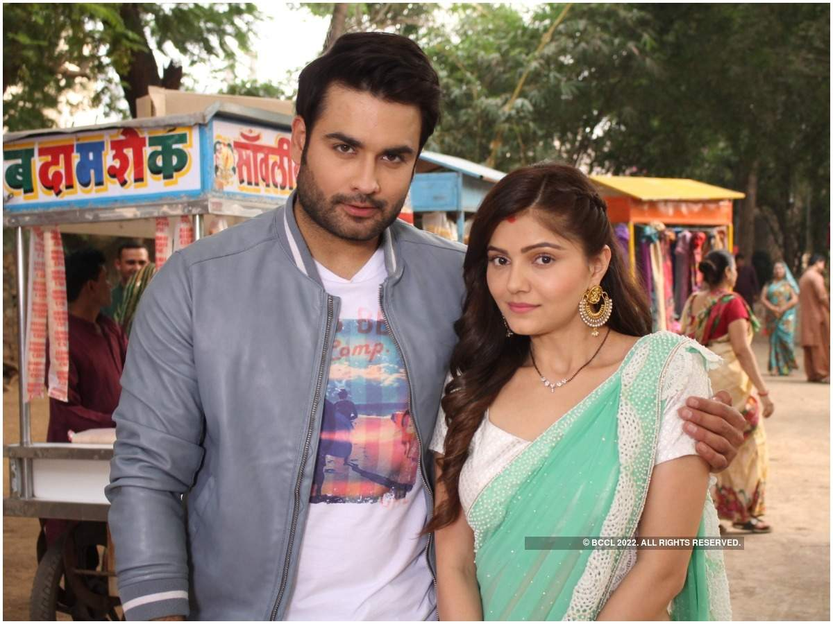 Vivian Dsena and Rubina Dilaik in a still from the show