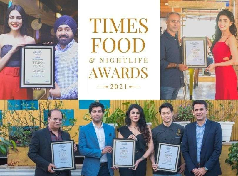 Beauty queens felicitate the best in Delhi's FOOD & NIGHTLIFE!
