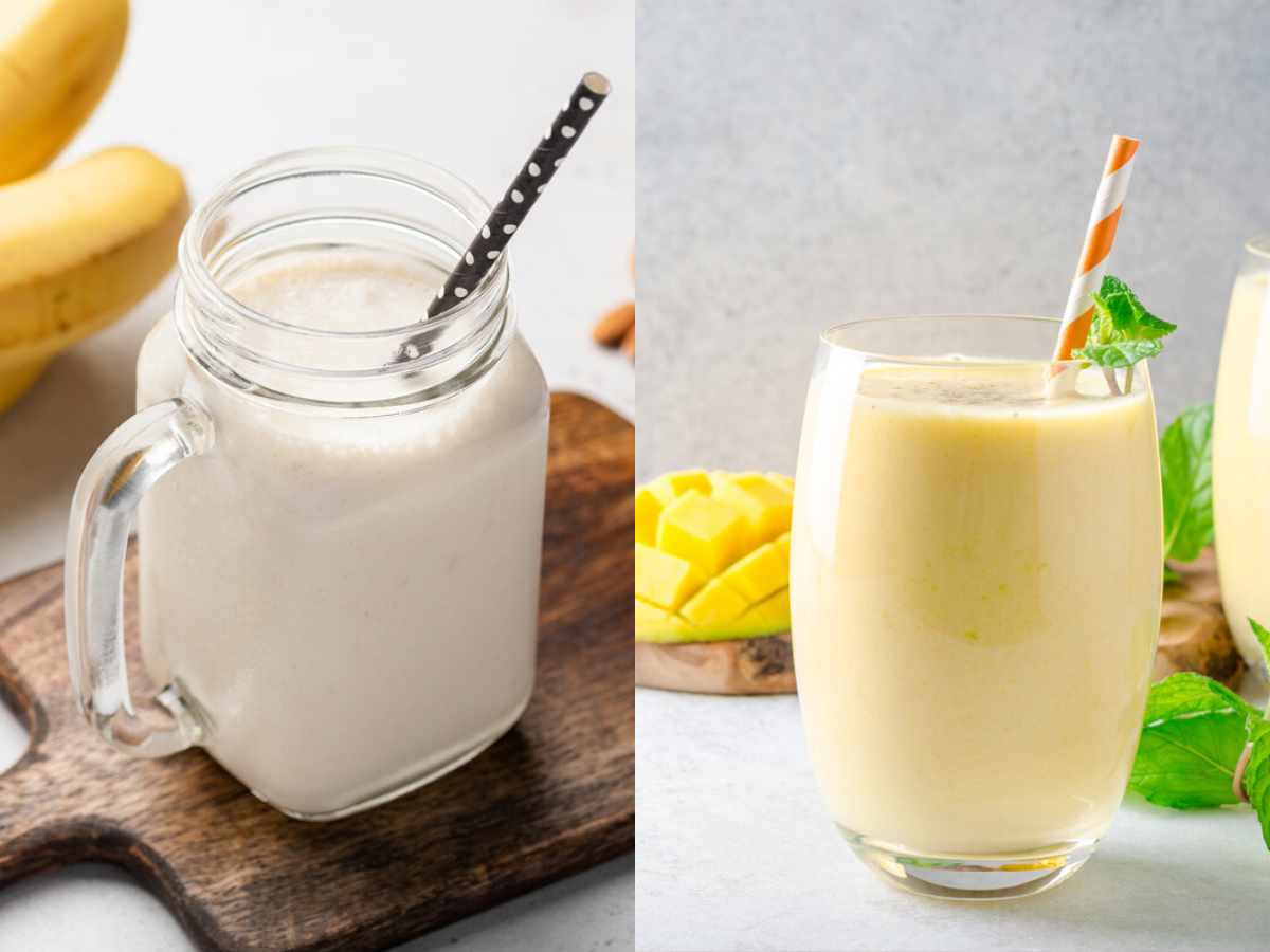 Weight loss Banana vs. mango shake