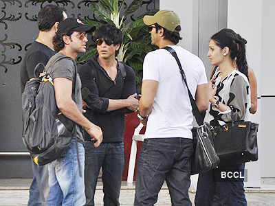 SRK, Hrithik, Arjun spotted at airport